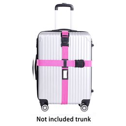 Дорожный чемодан онлайн-SKYHY224 Luggage Strap Cross Belt Packing Baggage Belts Packing Travel Suitcase Accessories
