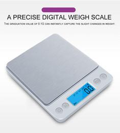 Bilancia da cucina digitale Mini tasca Gioielli in acciaio inossidabile Precisione Bilancia elettronica Peso grammi d'oro (3000gx0,1g) da