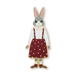 Miss bijoux en Ligne-Vente en gros- livraison gratuite femmes fashion Nouveaux bijoux en gros à la mode Bunny Miss Brooch