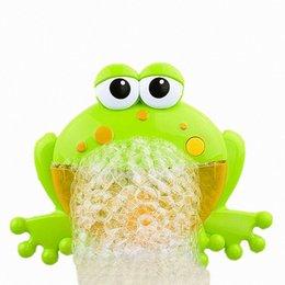 Baby Bath Toys Bubble Crabs Giocattoli per bambini Funny Bath Musica Bubble Maker Vasca da bagno Piscina Nuoto Sapone Macchina per bambini Bagno da spazzole di pulizia dei tipi fornitori