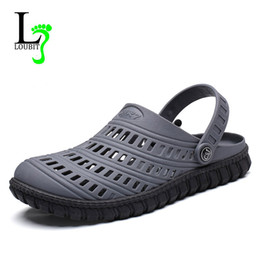 88e9c6c691938 2018 Summer EVA Men Slip On Garden Shoes Lightweight Sandals For Men Casual  Water Slippers Unisex Shoes Size 40-45