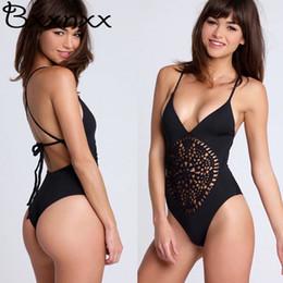 2019 häkeln einen stück badeanzug Weiß schwarz häkeln geflochtene sexy tanga badeanzug frauen 2017 neue badeanzug schwimmen tragen backless monokini günstig häkeln einen stück badeanzug