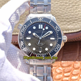 Diver watch ceramic bezel online-VS V2 Top-versione Diver 300 m 210.30.42.20.01.001 Quadrante In Ceramica 8800 Meccanico Automatico Mens Watch lunetta in ceramica cassa in acciaio orologi di design