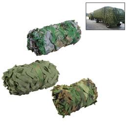 rete camouflage camo Sconti 3m * 2m di caccia camuffamento netto Woodland Army Camo reticolato campeggio Sun ShelterTent riparo tenda da sole