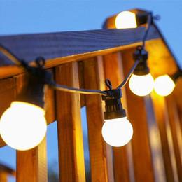 weihnachten hausgarten festival licht Rabatt Led-lampe Lichterkette 10 Licht 5 Mt Wasserdichte Outdoor Hängelampen String Weihnachten Hochzeit Festival Hausgarten Dekoration BH2174 CY