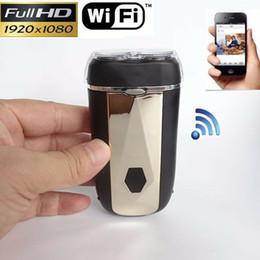 Camcorder spion online-8GB Real Elektrorasierer HD 1080P Wifi IP drahtlose DVR Video SPY versteckte Kamera