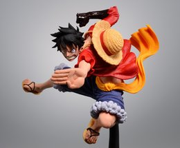 Argentina 14cm caliente de una pieza Luffy figura de acción de PVC Anime Nueva Colección Colección calcula los juguetes para el regalo de Navidad Suministro