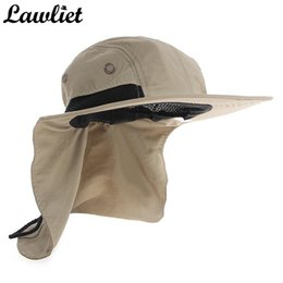 2020 sombreros de sol de montaña Nueva Marca Chapeau Sombrero de sol para hombre Parasol Pesca del sombrero del cubo de verano Suba sombreros de protección UV Mountain Jungle Senderismo Mujeres rebajas sombreros de sol de montaña