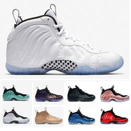 4e5345209d33 New 2019 Penny Hardaway 1 Foams PRM Mens shoes One Training Designer  Sneakers White Ice Rose Gold Sports Basketball Shoes Size 7-13