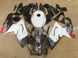 fairings for aprilia rs125 Promo Codes - Motorcycle New ABS Injection Mold Full Fairings Kit Fit For Aprilia RS125 06 07 08 09 10 11 2006-2011 bodywork set Matte Black Red White