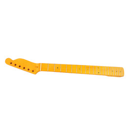 pescoço de guitarra para pára-lamas Desconto 22 Substituição Maple Neck Frets Fingerboard para Fender Tele Substituição Guitarra Acessórios