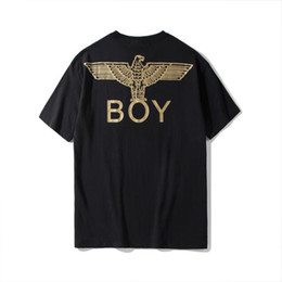 uomini di tè ad alta moda Sconti 19ss Boy London Mens T Shirt Designer Uomo Donna Alta qualità Maniche corte Fashion Designer Boy Luxury 4 colori Tees