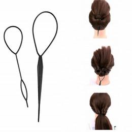 Fabricante de la venda online-2 Unids Hair Style Maker Estilismo Herramientas de bricolaje Mujeres Niñas Accesorios Pins Disco Kids Pull Pins Headbands