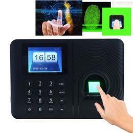 impressão digital Desconto Senha Sistema de Comparecimento do Tempo Biométrico de Impressão Digital Relógio Gravador de Reconhecimento de Empregado Dispositivo de Gravação Eletrônico