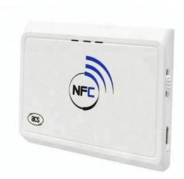 2019 lector de rfid de mano Bluetooth NFC Lector de Rfid de largo alcance con lector de tarjetas Usb Nuevo lector de mano NFC Bluetooth RFID Reader ACR1311 compatible con SDK gratuito lector de rfid de mano baratos