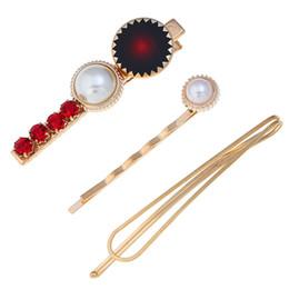 2019 estate 3 Pz Donna Clip di Capelli Pin Perla Barrette Hairband Hairpin Ragazze Hair Styling Pin per le donne ragazze Accessori da costume di abbigliamento hanfu fornitori