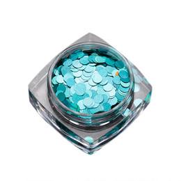 Mejores herramientas de arte de uñas online-Redondo Nail Art Glitter Paillette Nail Tip Botella Gel Polaco Decoración Herramientas de manicura el mejor regalo para ti 4.24