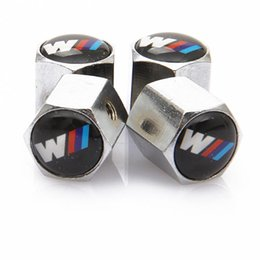 PODER Anti-Theft Poeira Cap válvula do pneu bonés com Logo Car Badges emblemas poder com Retail Box YX-009 frete grátis EEA118 de