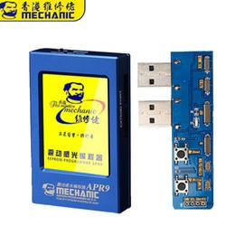 MECÂNICO APR9 Programador Fotorreceptor Tela LCD para iPhone 7 7 P 8 8 P X XS MAX XR EEPROM / Vibração / Touch / Cor Original reparação de Fornecedores de conector para acer