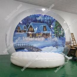 Promoção! Globo inflável quente da neve da venda para anunciar a cabine popular da foto do globo da neve cheap photo booth sales de Fornecedores de vendas de cabines fotográficas