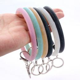 Эко браслеты онлайн-Модные силиконовые браслеты Eco-Friendly Dot Wristbands Предотвращение кражи движения Многоразовые браслеты Умные браслеты 6 цветов ZZA1018