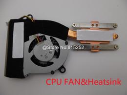 Dissipatore laptop lenovo online-Laptop FANHeatsink CPU per Lenovo Thinkpad X121e Per X130e E120 E125 E130 E135 04W6858 UDQFZER06CQU CPU FAN UDQFZER05CQU Nuovo
