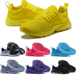 sports shoes a57d9 c1bc5 2019 Prestos 5 Running Shoes Men Women Presto Ultra BR QS Yellow Pink Oreo  Outdoor Fashion Jogging Sneakers Size US 5.5-12