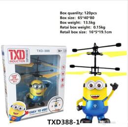 brinquedo copter mosca Desconto Navio rápido 10 modelos RC Drone Helicóptero Voador Bola de Helicóptero de Aeronave Levou Luz Piscando Até Brinquedos Indução Brinquedo Elétrico sensor Crianças
