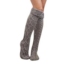 e399801ac3e JAYCOSIN Girls Ladies Women Bamboo Fiber Solid Thigh High Over the Knee  Sock Long Cotton Plaid Knitted Warm winter socks 9031423