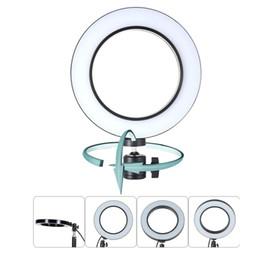 кольцевая скорость Скидка 8-дюймовый светодиодный фонарик для селфи с зарядкой от USB