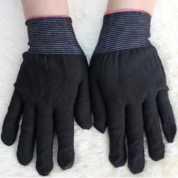 outils de coiffage des cheveux Promotion 1 paire résistant à la chaleur gant pour redresseur plat fers à friser cheveux Styling Tool noir couleur # 82932 gros