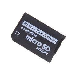Sıcak Satış Ücretsiz Nakliye Destek Hafıza Kartı-Adaptör Micro SD Memory Stick Adaptörü Için PSP Micro SD 1 MB-128 GB Memory Stick Pro Duo nereden sallamak kafa arabası tedarikçiler