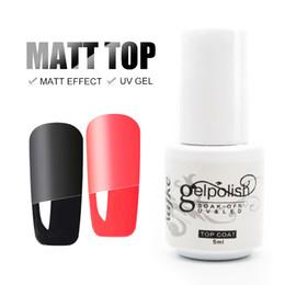 Vernis gel uv online-Aafke 5 ml Matt Matt Escudo polaco laca mate esmalte de uñas Top Gel Mat Vernis UV Gel Nail Primer Top