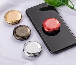 2020 célula vermelha Titular telefones de diamante para iphone x xs max xr aderência suporte 8 7 6 6 s além de suporte de telefone celular para samsung / xiaomi / redmi célula vermelha barato