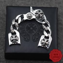 S925 en argent sterling montre chaîne personnalité mode street dance punk style croix fleur lettre forme cadeau 2019 nouvelle vente chaude ? partir de fabricateur
