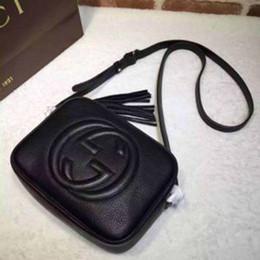 bolso de cocodrilo de charol negro Rebajas Bolsos de diseño de alta calidad Bolsos de lujo Cartera Famoso bolso de las mujeres de la borla del bolso de Crossbody Moda de cuero de la vendimia Bolsos de hombro