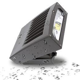 Hps lumières en Ligne-30W 70W 100W LED Lampe murale réglable lumière de lumière murale 5000K lumière du jour HPS / HID Remplacement de l'éclairage de sécurité LED extérieur avec ETL DLC