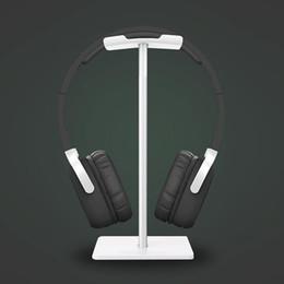 Yeni Arı Moda Ekran Kulaklık Standı Kulaklık Tutucu Kulaklık Braketi Kulaklık Askı Metal ve Yumuşak TUP için Kulaklık Siyah nereden tembel ipad tutucu tedarikçiler