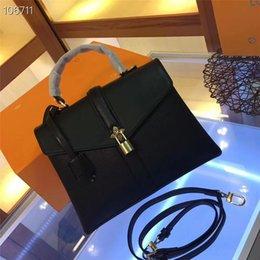 2019 borse borse primavera borsa delle donne del progettista delle borse del cuoio genuino della spalla della borsa a tracolla superiore della pelle bovina 2019 Borse di modo dell'estate della molla M43380 shopping bag borse borse primavera economici
