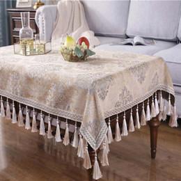 pezzi da tavola per matrimoni Sconti Tovaglia Nappa Tovaglia pesante in cotone pesante Tovaglia rotonda da tavolo rivestita in cotone