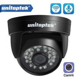 Argentina Cámara HD 720P 1080P WIFI del IP audio inalámbrico Onvif de seguridad CCTV Dome 20m visión nocturna ranura para tarjeta TF cámara de infrarrojos de APP camhi Suministro