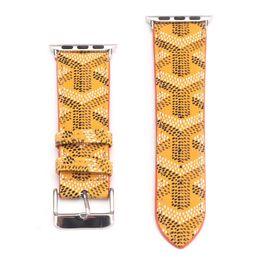 Pulseras de marca china online-de diseño de cuero correas de reloj de 38 mm 42 mm 40 mm 44 mm moda inteligente correas Bandas marcas inteligente de pulsera correa de reloj pulsera