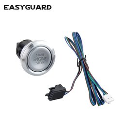 series engines Coupons - EASYGUARD Replacement push engine start stop button for ec002 es002 ec008 series P3 style car