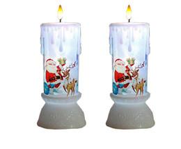 2019 lâmpada em forma de vela Velas românticas lâmpadas LED luz Da Noite Decoração festa de casamento lâmpadas LED vela forma presentes de aniversário DC5V lâmpada em forma de vela barato
