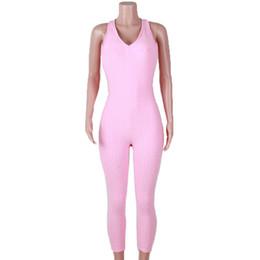 Mujer Fabala pantalones Skinny Yoga deporte mono de una pieza delgado sin mangas desde fabricantes
