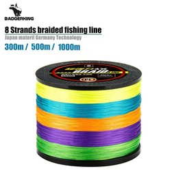 fishing floats materials Promo Codes - 300m 500m 1000m colored braided fishing line 8 strands cord super quality braid line mulifilament fish Japan Material
