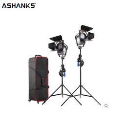 Противотуманные фары онлайн-ASHANKS 100W LED Fresnel spotlight с подставкой для света и сумкой для переноски 3200 / 5500K LED лампа для Camara Fotografica Video Light