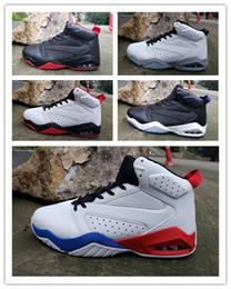 chaussures simples Promotion 2019 Nouveau 6 blanc noir rouge simple VI hommes chaussures de basketball sport 6 s baskets extérieures baskets haute qualité taille 7-12 avec la boîte