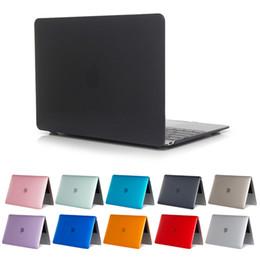estuches para macbook 13 pulgadas Rebajas Crystal Clear Anti Funda rígida contra rayones para Macbook Air 13.3 Pro 15.4 Cubierta de portátil para Macbook Air 11.6 pulgadas A1932