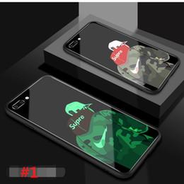 leuchtende handytaschen Rabatt Luxuxneuer Entwerfer-Telefon-Kasten für IPhone X / XS XR XS MAX 6 / 6S 6plus / 6S plus 7/8 7plus / 8plus Art- und Weiselichtglas-Handy-Kasten